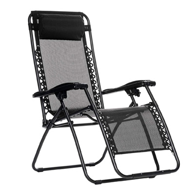 AmazonBasics Outdoor Beach Zero Gravity Lounge Folding Chair