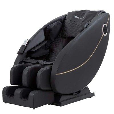 BestMassage Zero Gravity Full Body Electric Shiatsu Massage Chair Recliner with Built-in Heat Foot Roller Air Massage System
