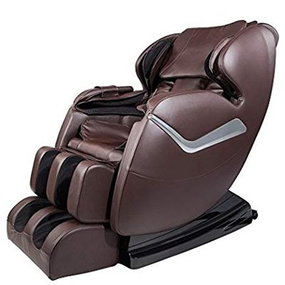 Full Body Zero Gravity Real Relax Shiatsu Massage Chair Recliner with Heat and Foot Roller