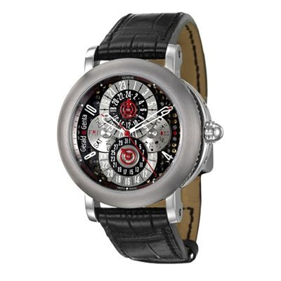 Gerald Genta Arena PC GMT Men's Automatic Watch