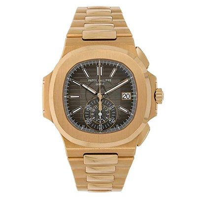 PATEK PHILIPPE NAUTILUS 40MM ROSE GOLD MEN'S WATCH