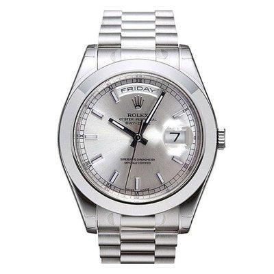 Rolex President Platinum Day-Date II