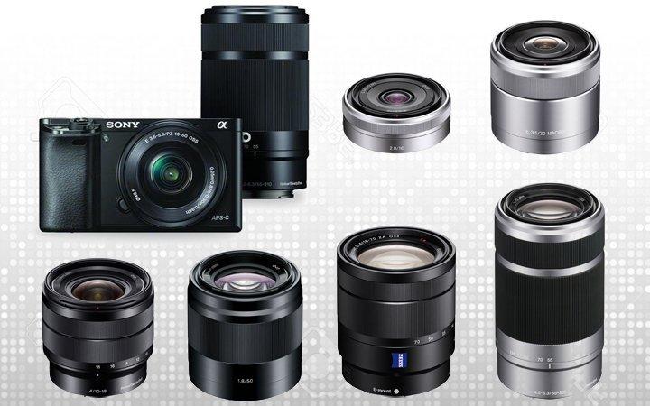 Sony Alpha A6000 Lenses