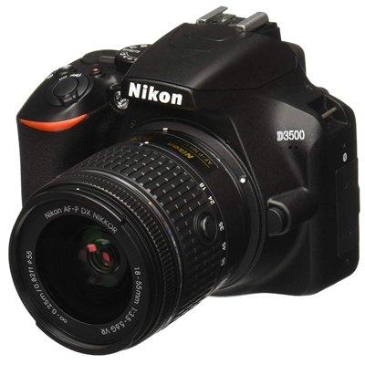 Nikon D3500 W/ AF-P DX NIKKOR 18-55mm f/3.5-5.6G VR