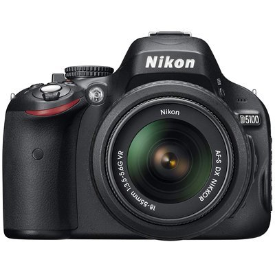 Nikon D5100 16.2MP CMOS Digital SLR Camera with 3-Inch Vari-Angle LCD Monitor