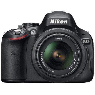 Nikon D5100 16.2MP CMOS Digital SLR Camera with 3-Inch Vari-Angle LCD Monitor