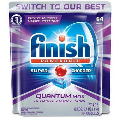 Finish Quantum Max Powerball Dishwasher Detergent Tablets