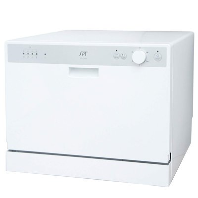 SPT SD-2202W Countertop Dishwasher with Delay Start