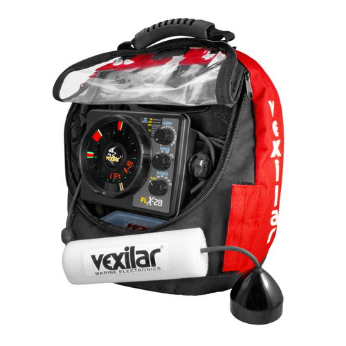 Vexilar FLX 28 Ice ProPack II Locator with Pro View Ice Ducer