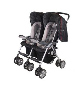 Combi Twin Savvy LX Side by Side Double Stroller Review