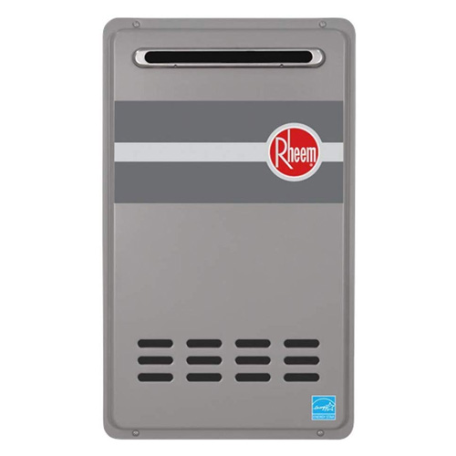 Rheem RTG-95XLN 9.5 GPM Outdoor Tankless Low Nox Water Heater