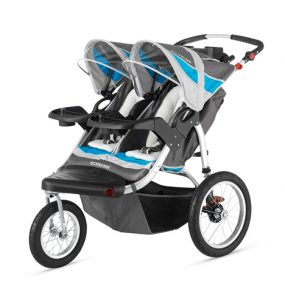 Schwinn Turismo Swivel Double Jogger Stroller Review