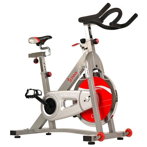 Sunny Health & Fitness Pro Indoor Cycling Spin Bike