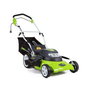 GreenWorks 25022 20-inch Corded Lawn Mower Review