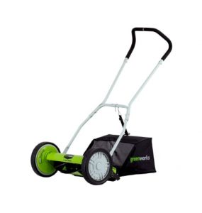 GreenWorks 25052 Reel Lawn Mower and Grass Catcher Review