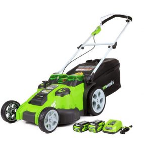 GreenWorks 25302 40V 20-inch Cordless Lawn Mower Review