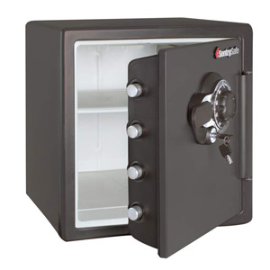 SentrySafe SFW123DSB Fireproof Safe and Waterproof Safe