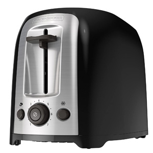 BLACK+DECKER TR1278B 2-Slice Toaster